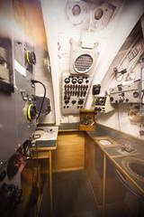 German world war 2 submarine type VIIC/41 - radio compartment