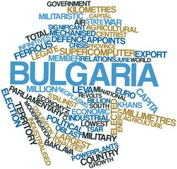 Word cloud for Bulgaria