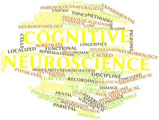 Word cloud for Cognitive neuroscience