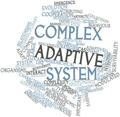 Word cloud for Complex adaptive system