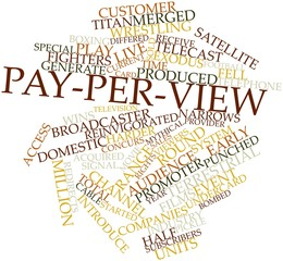 Word cloud for Pay-per-view