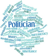Word cloud for Politician