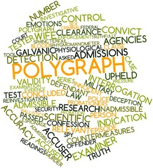 Word cloud for Polygraph