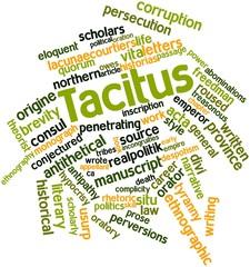 Word cloud for Tacitus