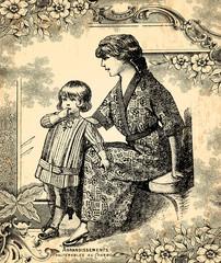 Wall Mural - Mère et enfant