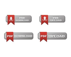 set of  upload anf download PDF button