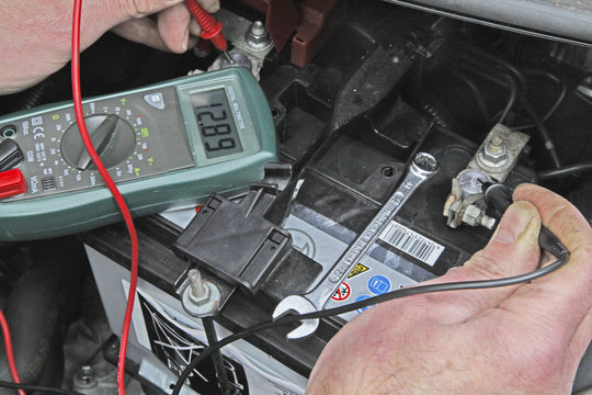 car battery check