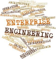 Word cloud for Enterprise engineering