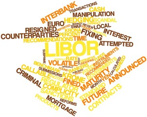 Word cloud for Libor