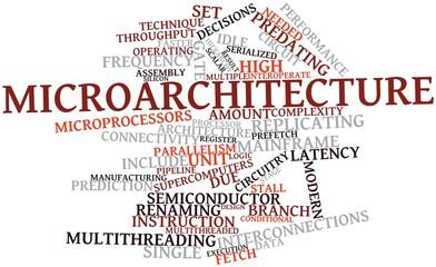 Word cloud for Microarchitecture