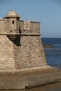 Cádiz, Castillo San Sebastián