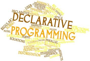 Word cloud for Declarative programming