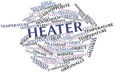 Word cloud for Heater
