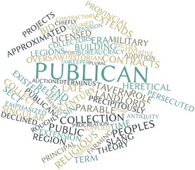 Word cloud for Publican