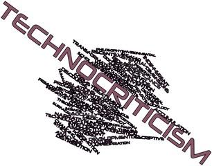 Word cloud for Technocriticism