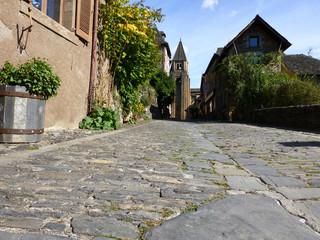 Conques, un des plus beaux villages de France