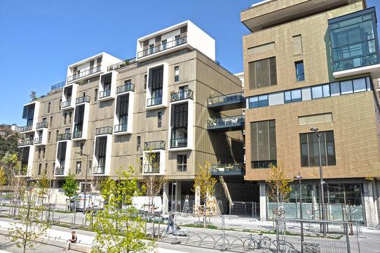 Arquitectura moderna, Lyon Confluence, Francia
