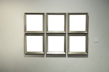 frame in museum