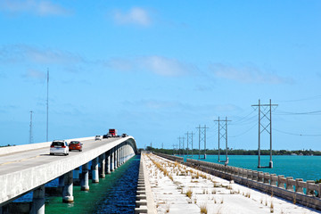 Florida Keys Bridges, Florida, USA