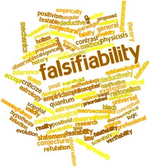Word cloud for Falsifiability