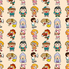 seamless kid pattern