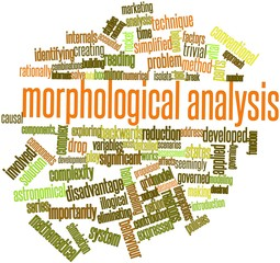 Word cloud for Morphological analysis