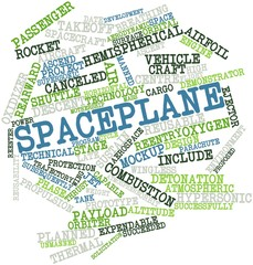 Word cloud for Spaceplane
