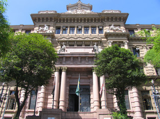 Justizpalast in Sao Paulo