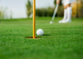 Detail of golf