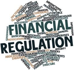 Word cloud for Financial regulation