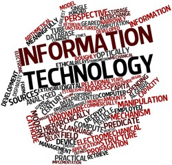 Word cloud for Information technology