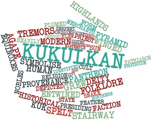 Word cloud for Kukulkan