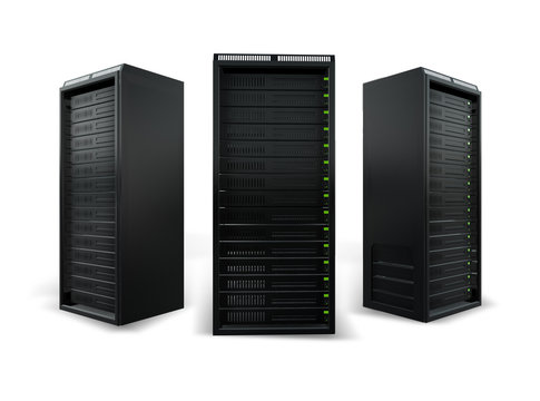 3 network servers