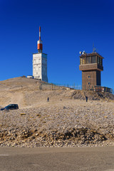 The Mount Ventoux, by Bedoin, South, France