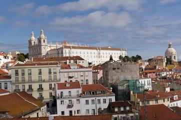 Lisbonne panorama Portugal