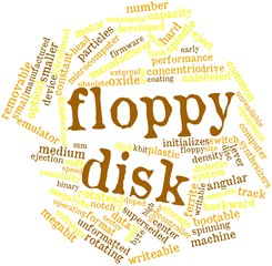 Word cloud for Floppy disk