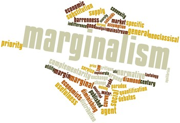 Word cloud for Marginalism
