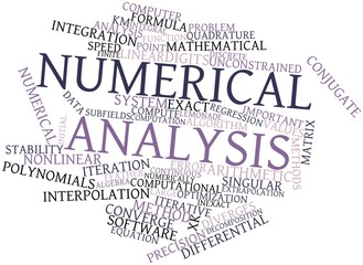Word cloud for Numerical analysis