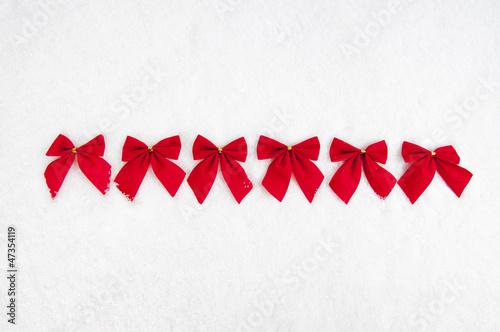 Weihnachtsdeko rote schleifen stockfotos und lizenzfreie - Rote weihnachtsdeko ...