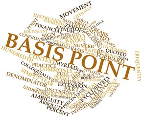 Word cloud for Basis point