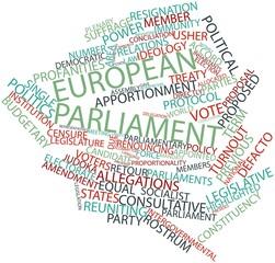 Word cloud for European Parliament