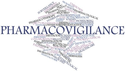 Word cloud for Pharmacovigilance
