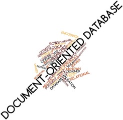Word cloud for Document-oriented database