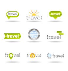 Travel icons set. Vol 1.