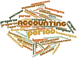 Word cloud for Accounting period