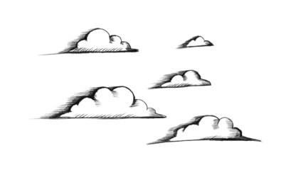 Sketch of clouds