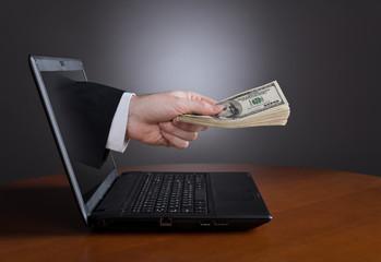 Fototapeta Online payments