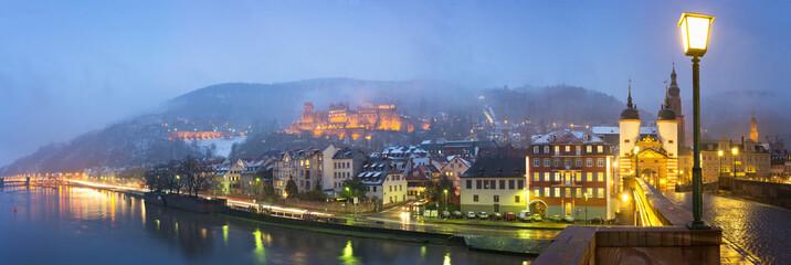 Fotomurales - Heidelberg im Winter