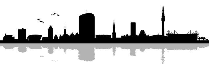 Skyline Dortmund Schatten