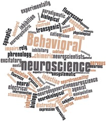 Word cloud for Behavioral neuroscience